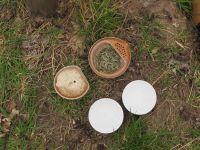 Tee-Rast auf dem Gipfel