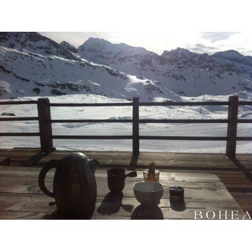 Orestes Hütte auf 2600 Metern in Italien